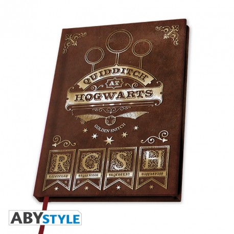 Cahier A5 quidditch
