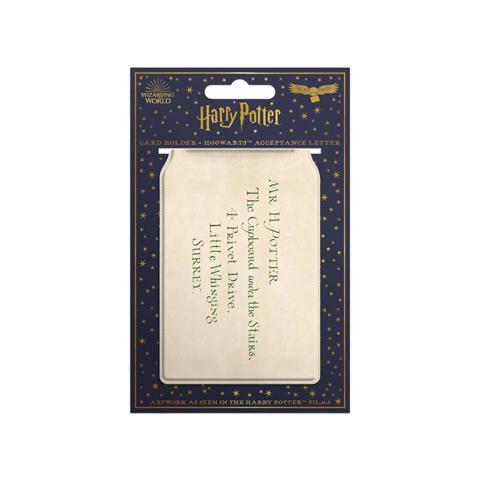 Porte Cartes Lettre D'acceptation à Poudlard