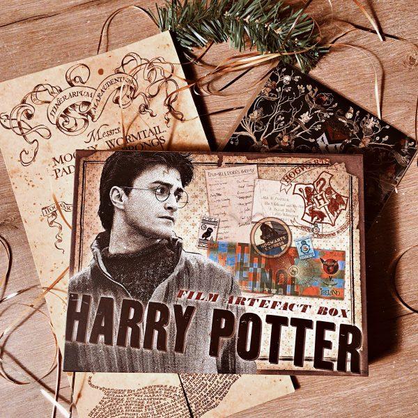 Boite artefact Harry Potter