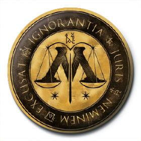 badge ministère de la magie