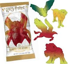 Animaux Fantastiques en gelatine