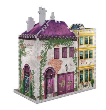 Boutiques Madame Guipure et Florean Fortescue - puzzle 3D