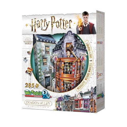 Boutiques Weasley, Farces pour sorciers facétieux et Daily Prophet