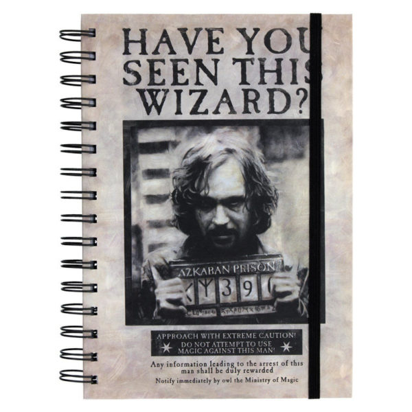 Carnet Spirales Harry Potter Wanted