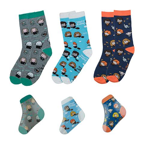 chaussettes magiques compressées Kawaii