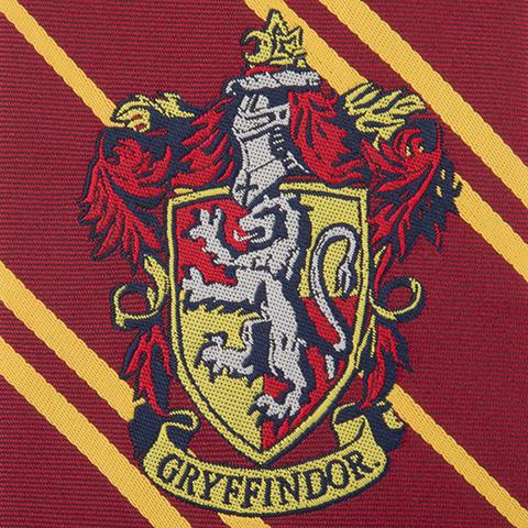Cravate enfant Gryffondor - Logo tissé