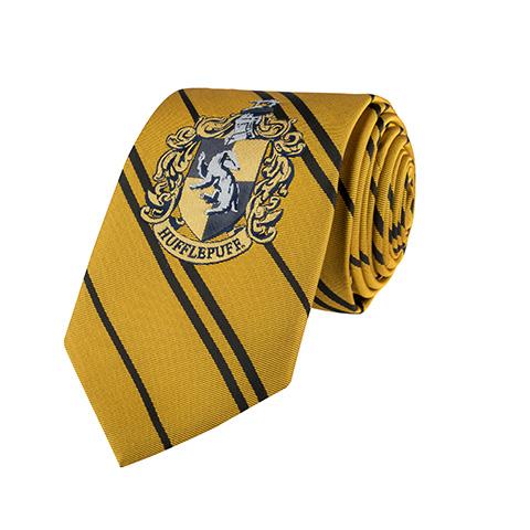Cravate Poufsouffle - Logo tissé