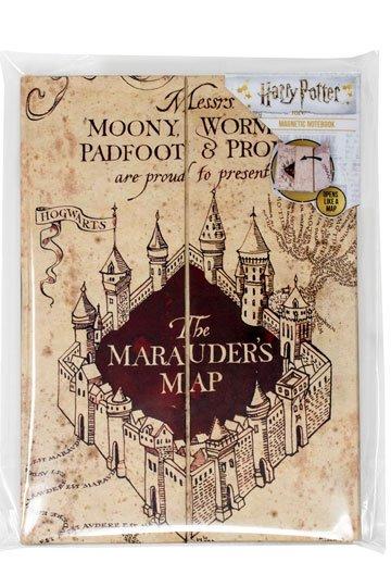 Carnet de notes la carte du Maraudeur