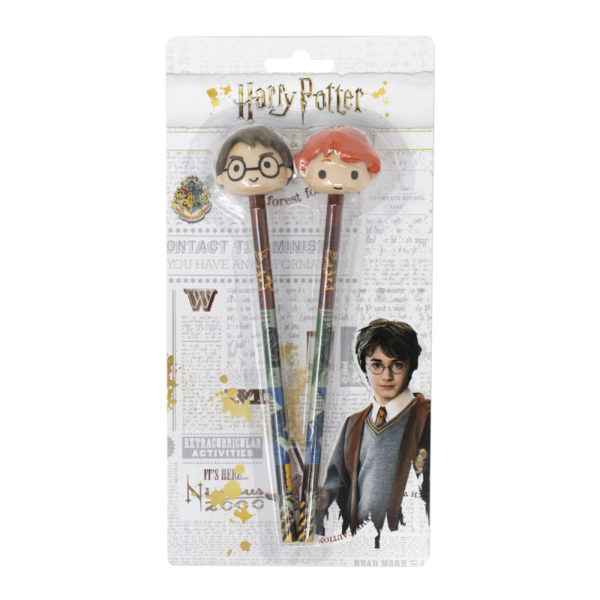 Duo crayons + gomme Harry Potter