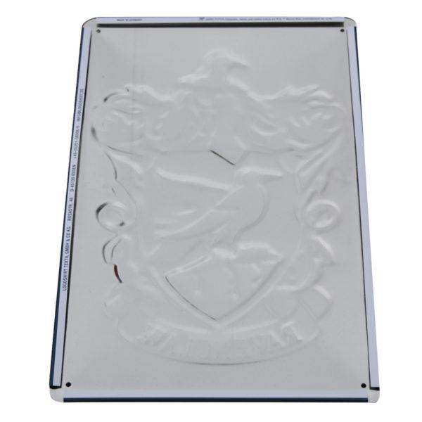 Plaque Metallique 3D serdaigle