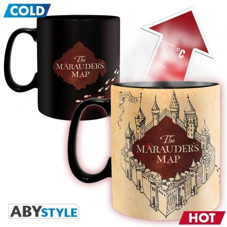 Mug Thermoréactif Carte du Maraudeur