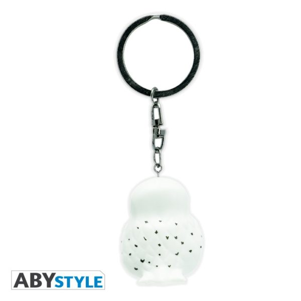 Porte-clés Hedwige en 3D