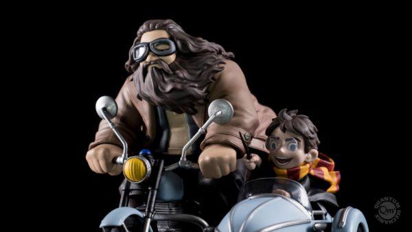 Figurine Q Max Harry et Rubeus Hagrid