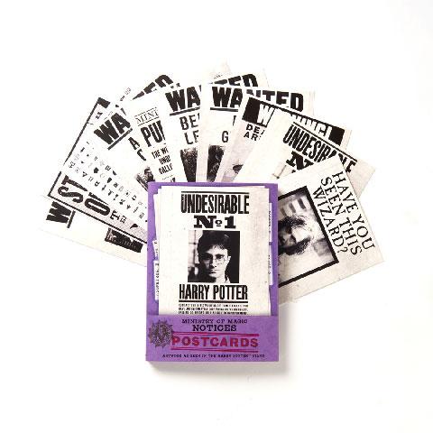 Lot de 20 cartes postales - Ministry of Magic