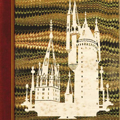 Carte 2 volets Hogwarts : A History