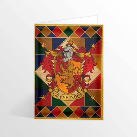 Carte 2 volets Gryffondor