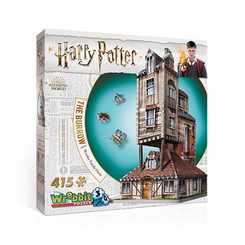 Le Terrier - La Maison des Weasley - puzzle 3D