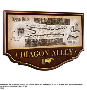 Diagon Alley Plaque murale