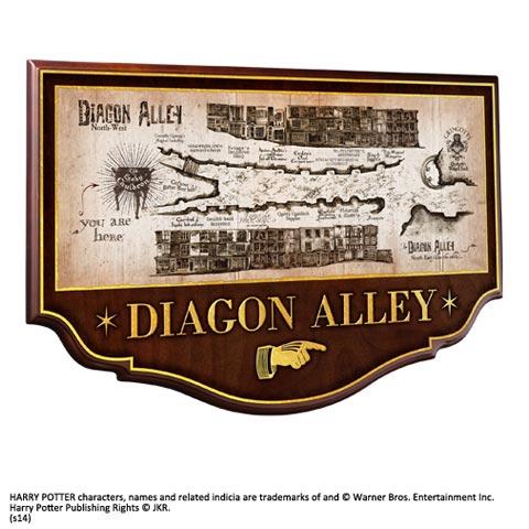 Diagon Alley Plaque murale