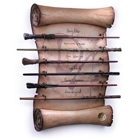 Présentoir à baguettes de l'Armée de Dumbledore