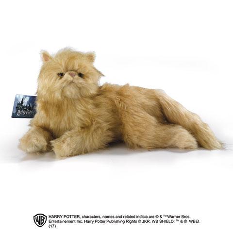 Grande Peluche Pattenrond Le chat d'Hermione