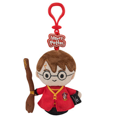 Porte-clés peluche - Harry Potter en tenue de Quidditch 1
