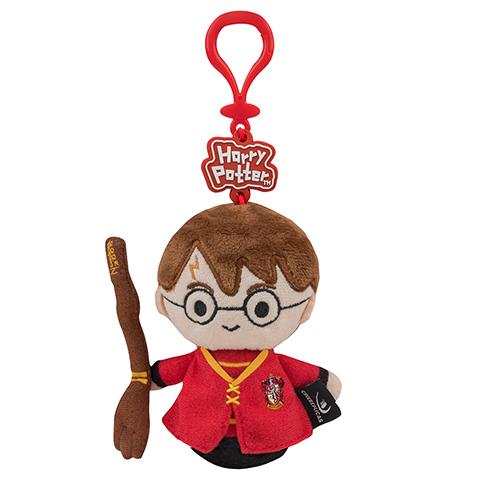 Porte-clés peluche - Harry Potter en tenue de Quidditch 1