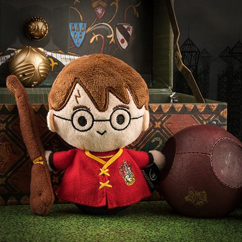 Porte-clés peluche - Harry Potter en tenue de Quidditch 3