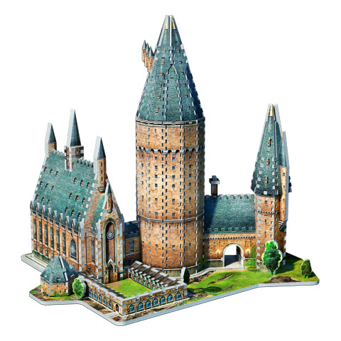 Poudlard - Grande salle puzzle 3D