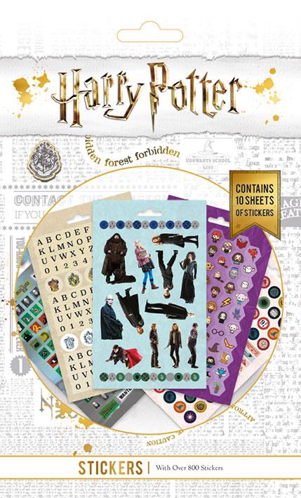 carnet de 800 Stickers Harry Potter