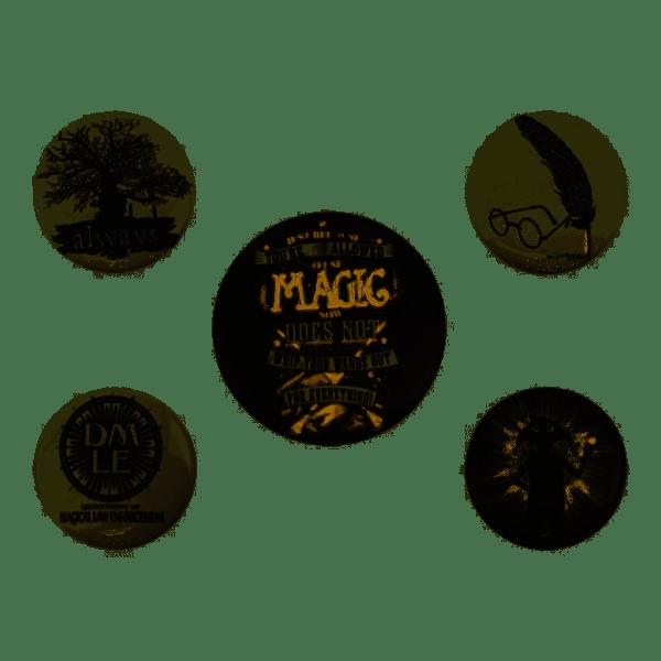 Pack 5 Badges Symbols