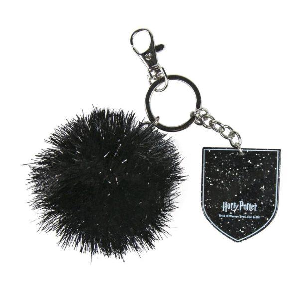 Porte-clés Pompon Noir