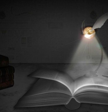 Lampe de lecture vif d'or