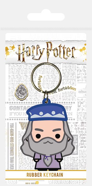 Porte clés caoutchouc Dumbledore Chibi