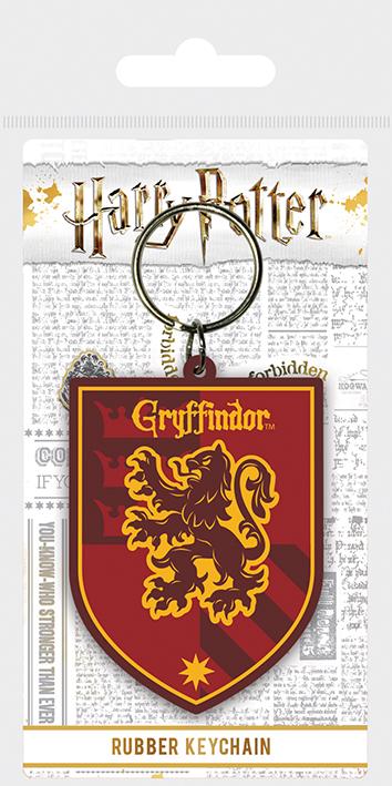 Porte clés caoutchouc Gryffondor
