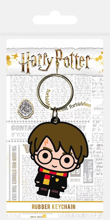 Porte clés caoutchouc Harry Potter Chibi