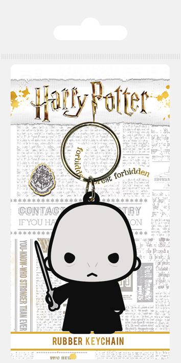 Porte clés caoutchouc Voldemort Chibi