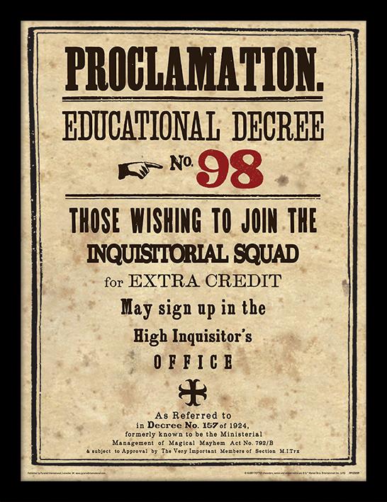 décret 98 - au comptoir des sorciers