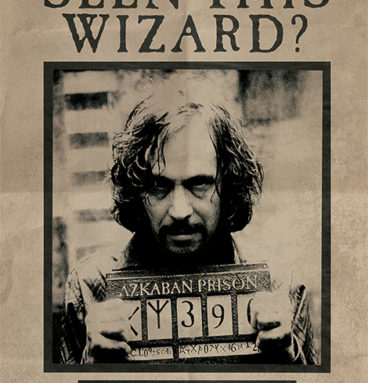 Poster sirius black wanted