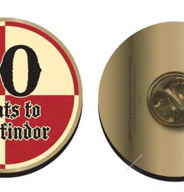 Pin's 10 points Gryffondor