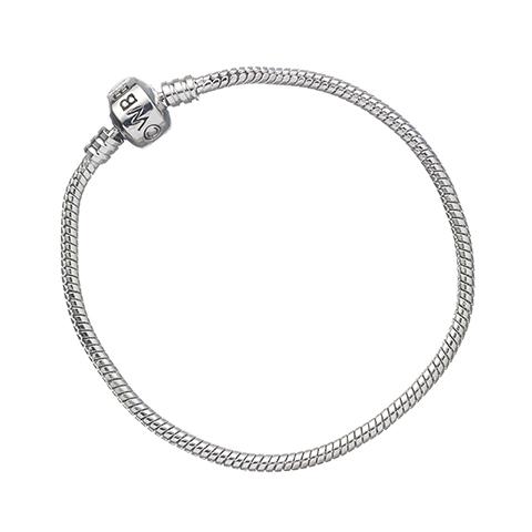 Bracelet à Charms Couleur Argent
