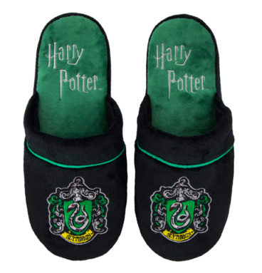 Pantoufles Serpentard - Harry potter