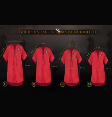 Robe de Quidditch personnalisable Gryffondor