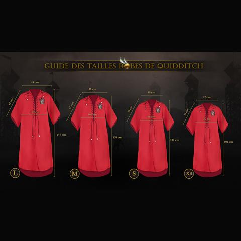 Robe de Quidditch personnalisable Gryffondor