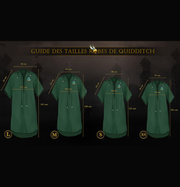 Robe de Quidditch Serpentard