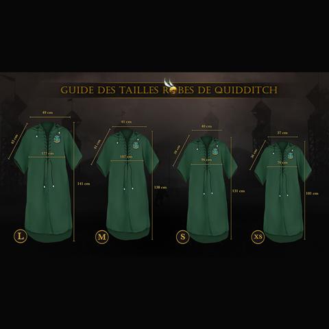 Robe de Quidditch Serpentard