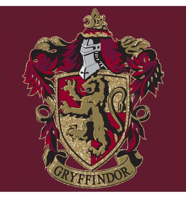 T-shirt Gryffondor Gold glitter