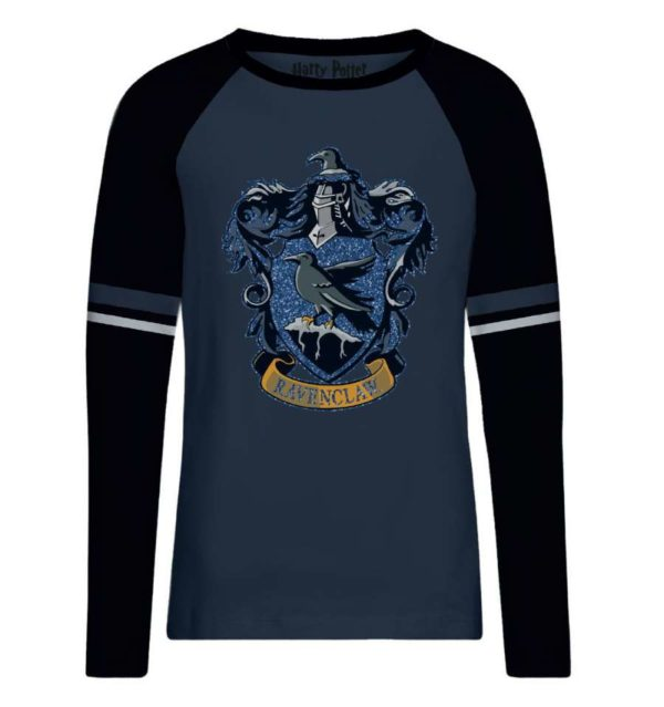 T-shirt Serdaigle Blue glitter