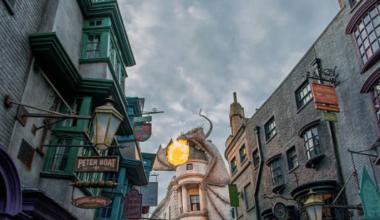 Quels produits dérivés d'Harry Potter propose Au Comptoir des Sorciers ?