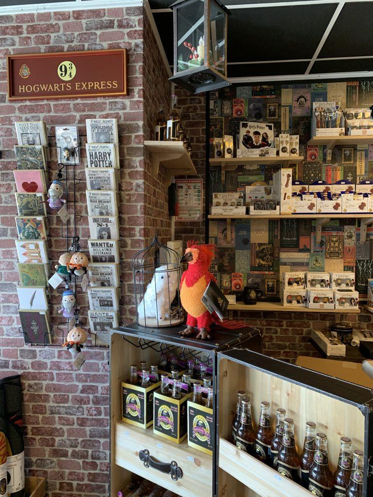 Boutique harry potter hillion bretagne